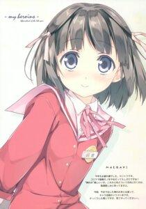 Rating: Safe Score: 32 Tags: 5_nenme_no_houkago kami_nomi_zo_shiru_sekai kantoku seifuku shiomiya_shiori User: Kalafina