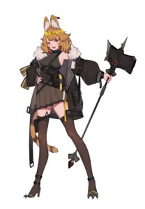 Rating: Safe Score: 15 Tags: animal_ears heels tail thighhighs xtears_kitsune User: Dreista