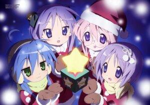 Rating: Safe Score: 15 Tags: christmas hiiragi_kagami hiiragi_tsukasa horiguchi_yukiko izumi_konata lucky_star takara_miyuki User: 月无名