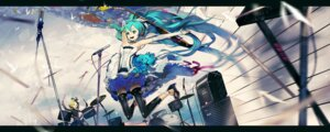 Rating: Safe Score: 21 Tags: 7th_dragon 7th_dragon_2020 el-zheng hatsune_miku kagamine_rin thighhighs vocaloid User: Metalic