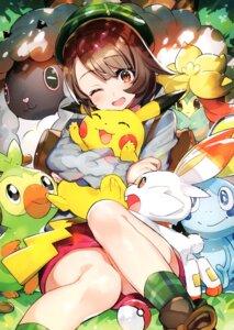 Rating: Safe Score: 48 Tags: gossifleur grookey mika_pikazo pikachu pokemon pokemon_sword_and_shield scorbunny sobble wooloo yuuri_(pokemon) User: kiyoe