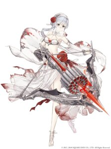 Rating: Questionable Score: 36 Tags: bikini_armor blood cleavage see_through sinoalice tagme weapon User: saemonnokami
