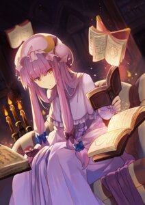 Rating: Safe Score: 22 Tags: dress patchouli_knowledge rin_falcon touhou User: RyuZU