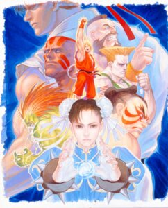Rating: Questionable Score: 4 Tags: blanka capcom chun_li dhalsim edmond_honda guile ken_masters ryuu street_fighter street_fighter_ii zangief User: Yokaiou