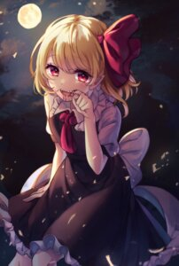 Rating: Safe Score: 14 Tags: asanagi_ron blood pointy_ears rumia touhou User: Mr_GT