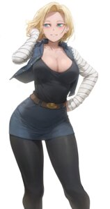 Rating: Questionable Score: 45 Tags: android_18 cleavage dragon_ball dragon_ball_z free_style_(yohan1754) pantyhose User: Dreista