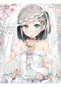 Rating: Safe Score: 52 Tags: dress hentai_ouji_to_warawanai_neko kantoku tsutsukakushi_tsukiko wedding_dress User: Twinsenzw