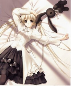 Rating: Safe Score: 92 Tags: dress hashimoto_takashi kasugano_sora lolita_fashion sphere yosuga_no_sora User: Share