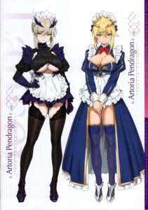 Rating: Questionable Score: 37 Tags: artoria_pendragon_(lancer) artoria_pendragon_alter_(fate/grand_order) fate/grand_order maid orange_maru tagme yang-do User: kiyoe