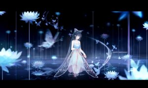 Rating: Safe Score: 43 Tags: clouble dress see_through wet wings User: BattlequeenYume