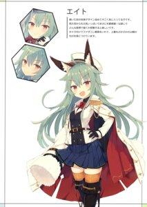 Rating: Questionable Score: 25 Tags: animal_ears nibiiro_shizuka thighhighs uniform User: Radioactive