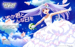 Rating: Safe Score: 42 Tags: dress isla nakajima_chiaki plastic_memories wedding_dress User: drop