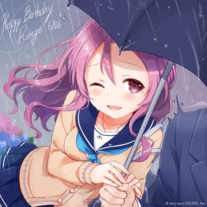 Rating: Safe Score: 34 Tags: battle_girl_high_school seifuku serizawa_renge sweater umbrella wet User: saemonnokami