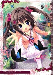 Rating: Safe Score: 55 Tags: ame_zaiku dress shiramori_yuse thighhighs User: Hatsukoi