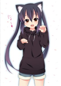 Rating: Safe Score: 42 Tags: animal_ears kishiri_toworu k-on! nakano_azusa nekomimi User: DrWafflesXD