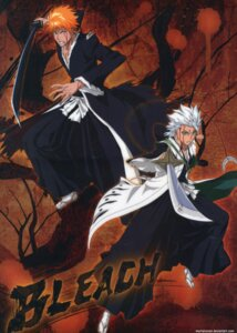 Rating: Safe Score: 3 Tags: bleach hitsugaya_toushirou kurosaki_ichigo male signed sword User: charunetra