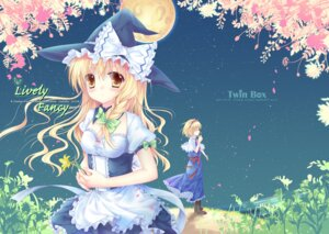 Rating: Safe Score: 22 Tags: alice_margatroid hanahanamaki kirisame_marisa touhou User: fairyren