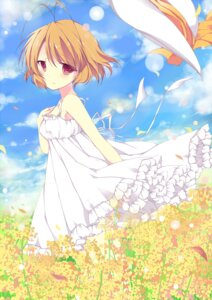 Rating: Safe Score: 41 Tags: clannad clannad_after_story dress furukawa_nagisa summer_dress umi_no_mizu User: 椎名深夏