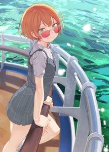 Rating: Safe Score: 29 Tags: dress hoshizora_rin love_live! megane yunamul User: RyuZU