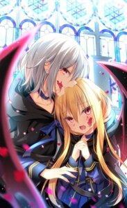 Rating: Safe Score: 17 Tags: blood luri_tear pointy_ears seifuku shikitani_asuka wings User: Innominate