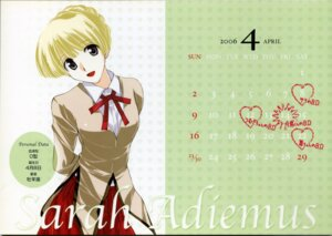 Rating: Safe Score: 8 Tags: calendar kobayashi_jin sara_adiemus school_rumble seifuku User: Radioactive