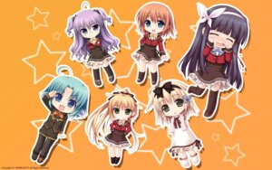 Rating: Safe Score: 12 Tags: akabeisoft2 alpha asami_asami blood chibi seifuku thighhighs wallpaper w.l.o._sekai_renai_kikou User: yuno