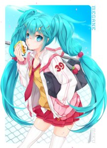Rating: Safe Score: 35 Tags: hatsune_miku juna megane seifuku thighhighs vocaloid User: fairyren