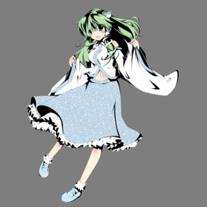 Rating: Safe Score: 9 Tags: kochiya_sanae plus9 touhou transparent_png User: Nekotsúh