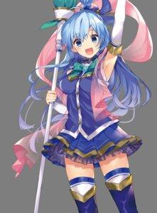 Rating: Safe Score: 19 Tags: aqua_(kono_subarashii_sekai_ni_shukufuku_wo!) kono_subarashii_sekai_ni_shukufuku_wo! mishima_kurone thighhighs weapon User: zyll