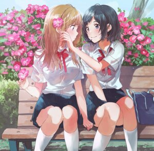 Rating: Safe Score: 57 Tags: fly seifuku yuri User: Spidey