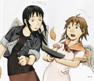 Rating: Safe Score: 5 Tags: haibane_renmei rakka reki_(haibane_renmei) wings User: Davison