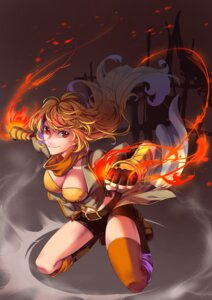 Rating: Safe Score: 18 Tags: cleavage jh_(artist) rwby thighhighs yang_xiao_long User: Mr_GT