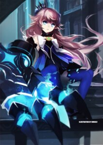 Rating: Questionable Score: 51 Tags: dress elsword lu_(elsword) swd3e2 thighhighs weapon User: Anonymous