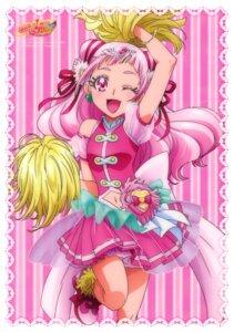 Rating: Safe Score: 17 Tags: cheerleader hugtto!_precure kawamura_toshie nono_hana see_through User: drop
