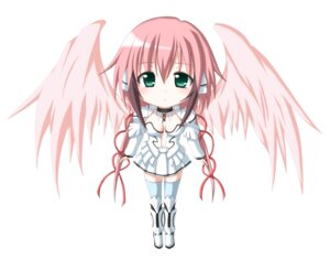 Rating: Safe Score: 35 Tags: angel chibi ikaros kuena sora_no_otoshimono User: shizukane