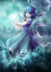 Rating: Safe Score: 35 Tags: cirno oto_taku touhou User: Fuuraiken