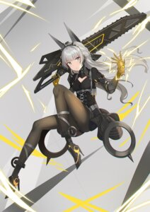 Rating: Safe Score: 31 Tags: animal_ears chainsaw dance_of_eternity dress gray_raven heels mecha_musume pantyhose skirt_lift tagme User: BattlequeenYume