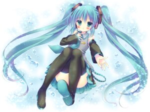 Rating: Safe Score: 41 Tags: hatsune_miku kouta. thighhighs vocaloid User: mattiasc02