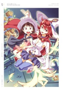 Rating: Safe Score: 10 Tags: atsuko_kagari cleavage dress little_witch_academia scanning_artifacts screening shiny_chariot tagme thighhighs witch User: NotRadioactiveHonest