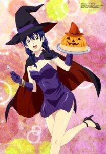 Rating: Safe Score: 35 Tags: cleavage dress halloween heels shokugeki_no_soma tadokoro_megumi witch yamanaka_izumi User: drop