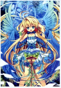 Rating: Safe Score: 31 Tags: capura.l dress eternal_phantasia wings User: midzki