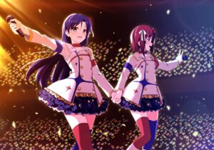 Rating: Safe Score: 16 Tags: amami_haruka kisaragi_chihaya mycstea the_idolm@ster thighhighs User: fairyren