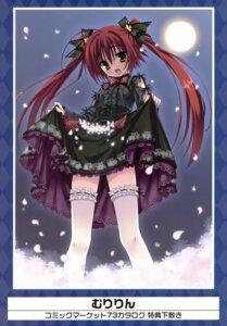 Rating: Safe Score: 37 Tags: lolita_fashion muririn skirt_lift thighhighs User: Aurelia