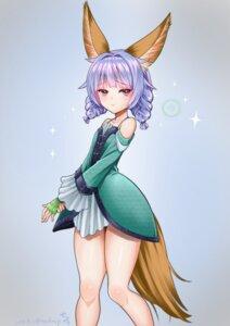 Rating: Safe Score: 19 Tags: animal_ears dress elin kitsune kumehara_chiyota tail tera_online User: Nico-NicoO.M.