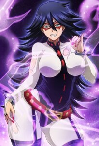 Rating: Safe Score: 8 Tags: bodysuit boku_no_hero_academia midnight_(boku_no_hero_academia) sano_br stockings thighhighs torn_clothes User: Werewolverine4