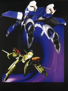 Rating: Safe Score: 1 Tags: macross macross_plus mecha tenjin_hidetaka the_super_dimension_fortress_macross User: Radioactive