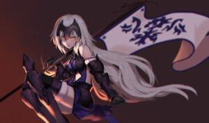 Rating: Safe Score: 12 Tags: armor fate/grand_order jeanne_d'arc jeanne_d'arc_(alter)_(fate) jpeg_artifacts tagme thighhighs User: Nepcoheart