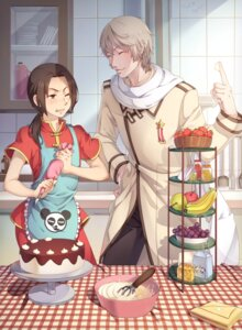 Rating: Safe Score: 9 Tags: asian_clothes china hetalia_axis_powers kelang russia User: mash