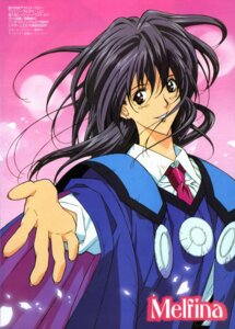 Rating: Safe Score: 5 Tags: bleed_through melfina saitou_takuya seihou_bukyou_outlaw_star User: Radioactive