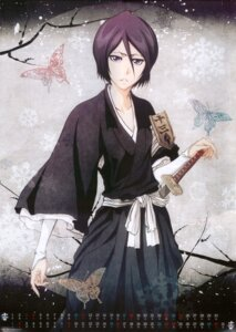Rating: Safe Score: 30 Tags: bleach calendar kimono kuchiki_rukia sword User: charunetra